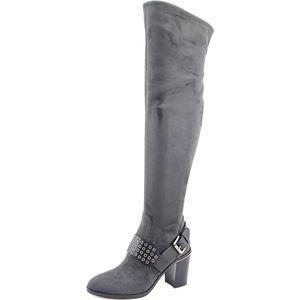 Michael Kors Over the Knee Grommet Boots